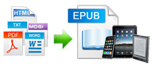 create epub from 5 formats