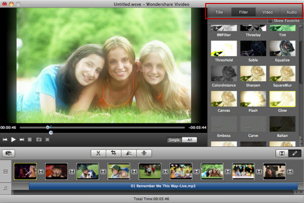 video editing software free mac